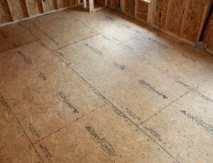 Plywood Subfloor